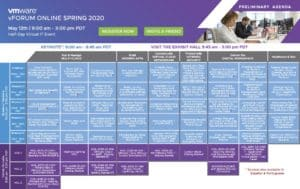 Agenda vForum 2020
